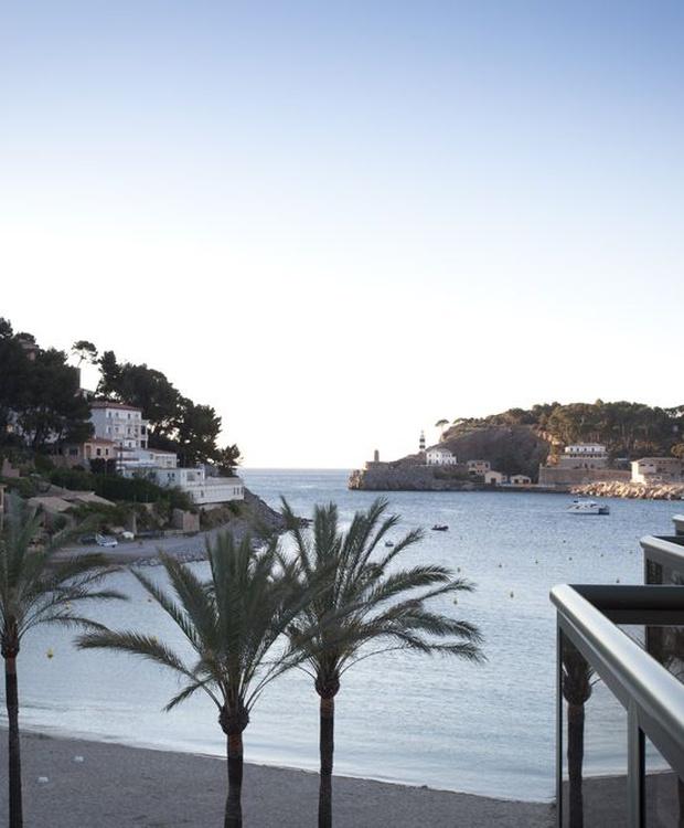 Blick auf das Zimmer Hotel Los Geranios