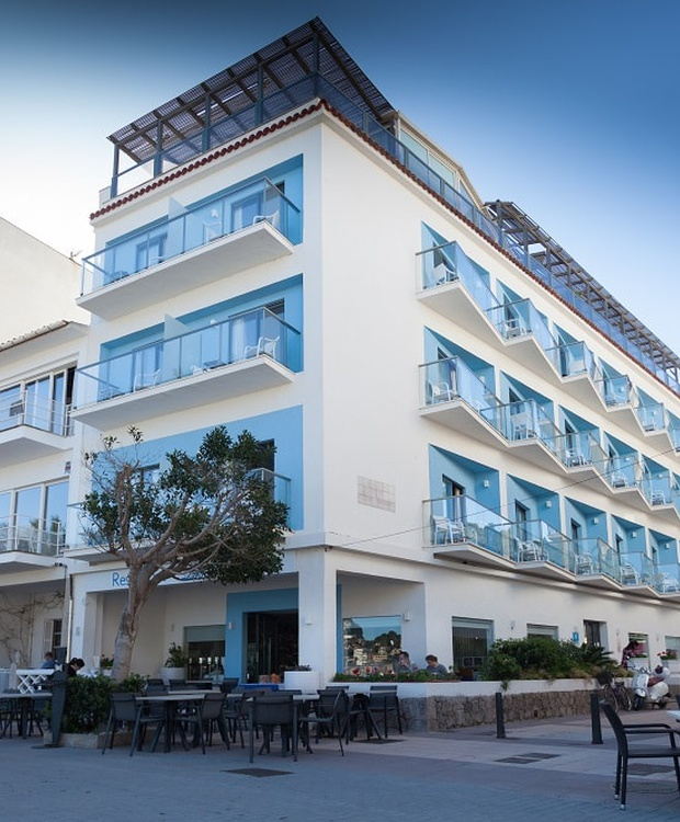 Fassade Hotel Los Geranios