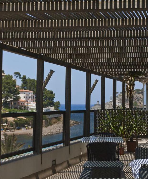 Terrasse Hotel Los Geranios
