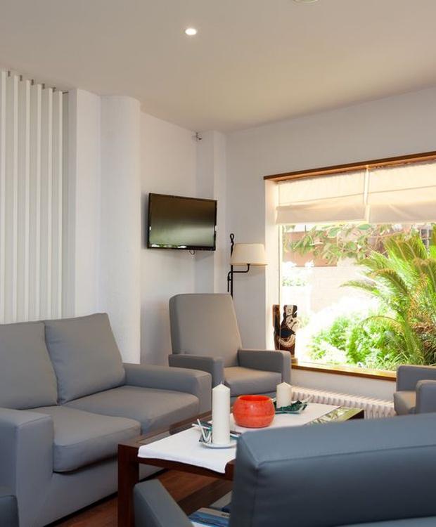 Aufenthaltsraum Hotel Los Geranios
