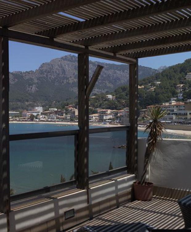 Sicht Hotel Los Geranios
